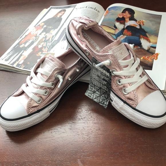 810d81e92430 🆕🔥CONVERSE Shoreline Women s Sneakers Rose Gold